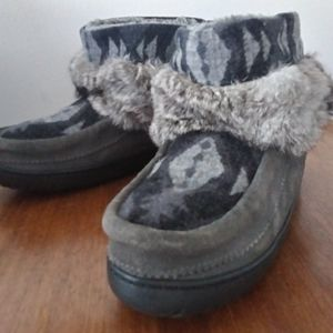 Manitobah Muluks Boots Gray Size 8